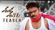 'Shambo Shankara' Teaser Released