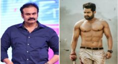 Nagababu as NTR's Father