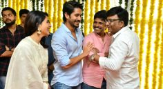 Naga Chaitanya, Samantha New Movie Opening