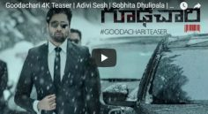 Adivi Sesh 'Goodhachari' Teaser Is Released