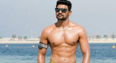 Bellamkonda Srinivas In Six Packs Look In Saakshyam
