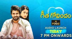 Geetha Govindam Audio Launch Today