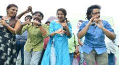 Happy Wedding Movie Team at Gannavaram