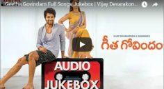 """Vijay Devarakonda """"Geetha Govindam' Juke Box Review"""