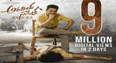 NTR Aravinda Sametha Teaser Crosses 9 Million Views