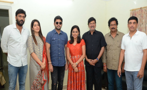 SrinivasaKalyanam Team @ DwarakaTirumala