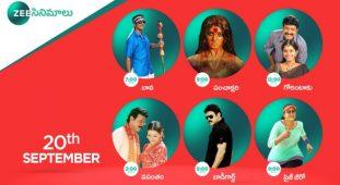 Zee Cinemalu ( 20th September )