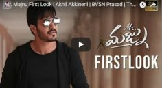 Akhil Akkineni Mr. Majnu First Look Released