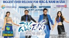 Devadas… Biggest ever release for Nagarjuna and Nani