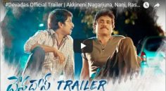 Nani, Nagarjuna starring Devadas Trailer Review
