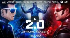 Rajinikanth 2.0 Teaser Review