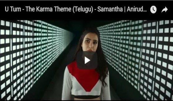 Samantha 'U Turn' The Karma Theme Song Is Just Outstanding | Watch ...