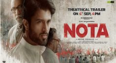 Vijay Devarakonda 'NOTA' Theatrical Trailer Release Date Is Fixed