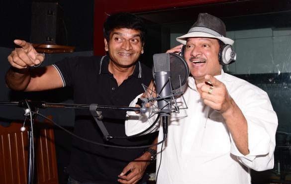 రవి బాబు 'అదుగో'... రాజేంద్రప్రసాద్ వాయిస్ ఓవర్