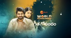 Vijay Devarakonda 'Geetha Govindam' World Television Premiere On November 4