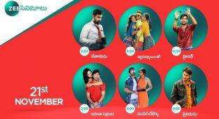 Zee Cinemalu ( 21st November )