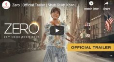Shah Rukh Khan'Zero' Theatrical Trailer Released