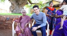 Mahesh met his oldest fan ever