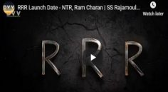 RamCharan, NTR Multi Starrer Movie Launch Date