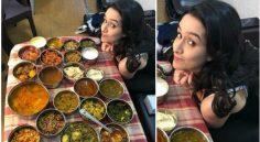 Shraddha Kapoor Food Festival at Saaho Sets