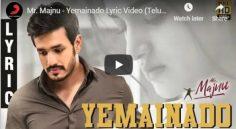 Akhil Mr Majnu First Single 'Yemainado' Is Released