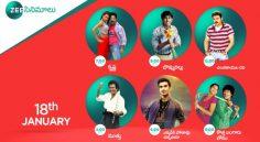 Zee Cinemalu ( 18th January )