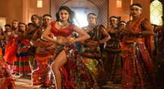 Nidhhi Agerwal from 'iSmart Shankar' song shoot