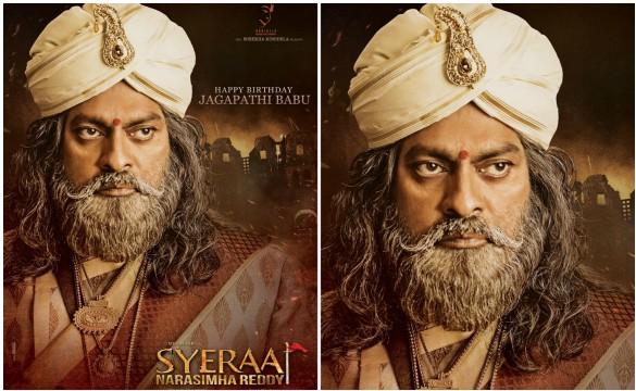 Megastar's 'Syeraa' Movie Stills