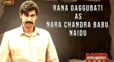 Rana Daggubati as Nara Chandrababu Naidu