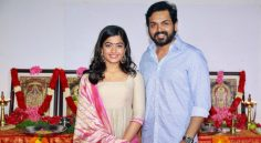 Karthi's Next With Rashmika As Heroine Produced By Dream warrior Pictures Launched
