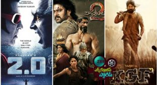 Top-10 South Indian Movies.. Worldwide Gross
