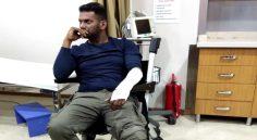 Vishal gets injured in Turkey