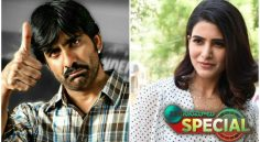 Raviteja And Samantha Have Similarities In Characters From Their Upcoming Movies