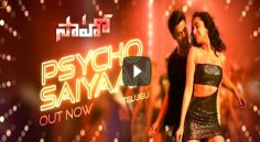 Saaho first song released
