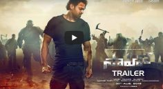 Saaho Trailer Creates sensations in Youtube