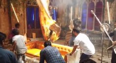Fire Accident in ROMANTIC Movie Sets