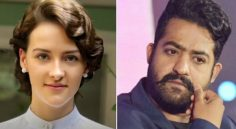 Olivia Morris has been roped in to play as lead actress for NTR in #RRR
