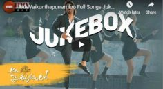 'Ala Vaikuthapuramuloo' Juke Box Review