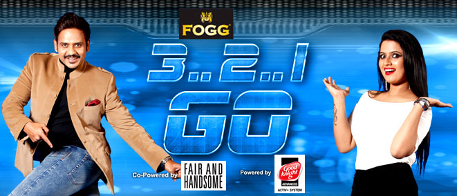 zee telugu 321 go game show anchors
