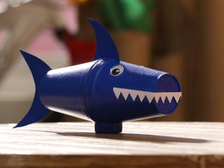 Thermocol Cup Shark