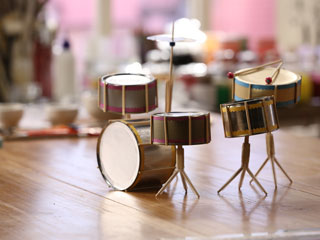 Tin Drum Set