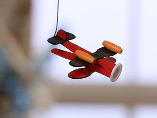 Wooden Clip Plane