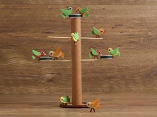 Cardboard Bird Feeder