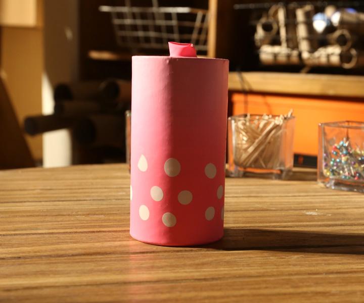 Place a toilet paper roll in a flower pot flowers healthy toilet paper origami flower pot flowers healthy take a toilet paper roll and put it inside mightylinksfo