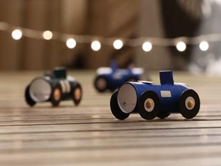 Cardboard Racing Cars