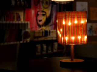 STRAW LAMP