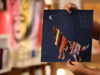 WOLF MAGAZINE ART