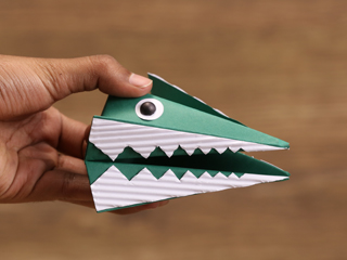Origami Hand Puppet