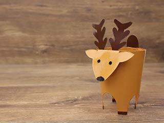 Paper Cup Deer