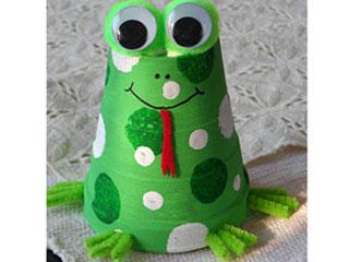 Tasneem Godiwala - Papercup Frog